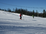Skiing at Vaset