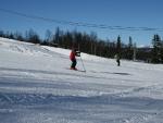 Skiing at Vaset