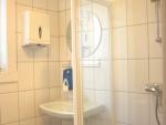 Bath room in the corridor